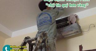 Thợ tháo lắp điều hòa giỏi tại Hà Nội