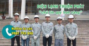 Đội ngũ thợ sửa điều hòa chuyên nghiệp, có tay nghề cao của Thuận Phát